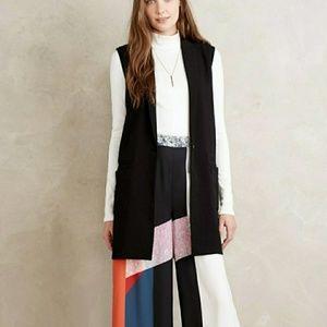 Anthropologie Cartonnier Jess Tailored Vest Blazer